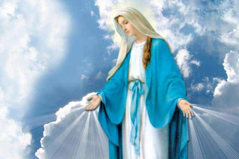 oração maria passa na frente para pedir ajuda